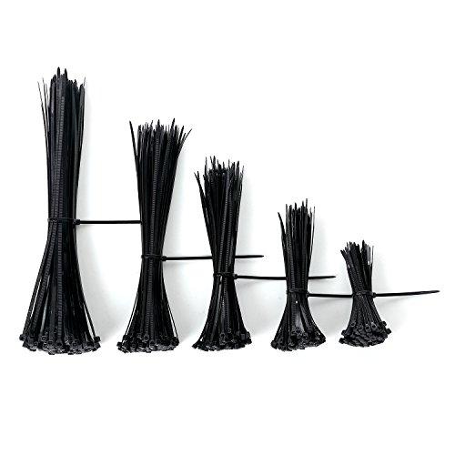 black zip ties - 4
