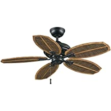 Palm Beach II 48 in. Outdoor Natural Iron Ceiling Fan Natural Iron