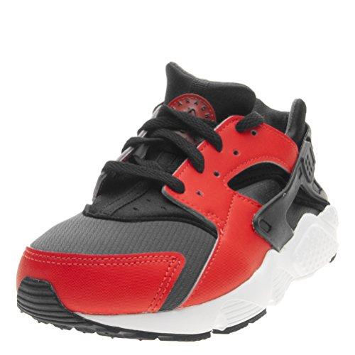NIKE HUARACHE RUN (PS) boys fashion-sneakers 704949-800_1Y - MAX ORANGE/BLACK-BLACK-ANTHRACITE (Kids For Shoes Orange Nike)