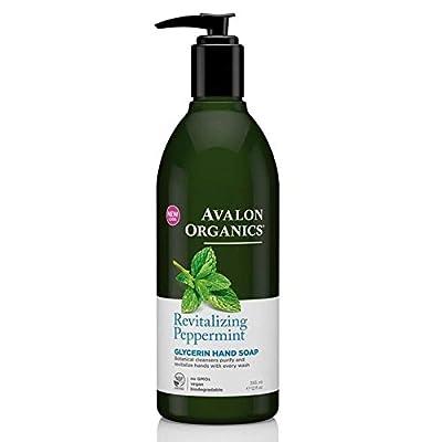 Avalon Organics Peppermint Hand Soap 355ml