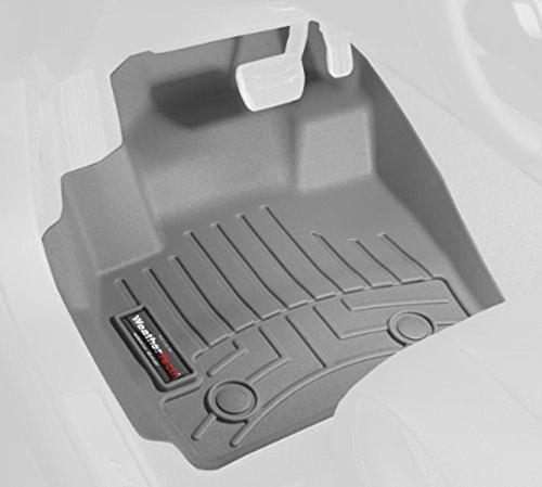 WeatherTech (465101) FloorLiner, Front, (Gray Front Floor Liner)