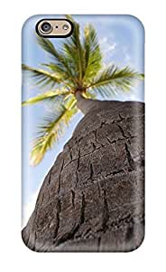 Anti-scratch And Shatterproof Palm Tree Palms Trees Nature Other Phone Case For Iphone 6/ High Quality Tpu Case