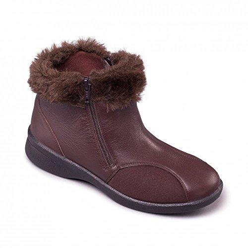 Padders - Botas de Piel para mujer marrón marrón marrón