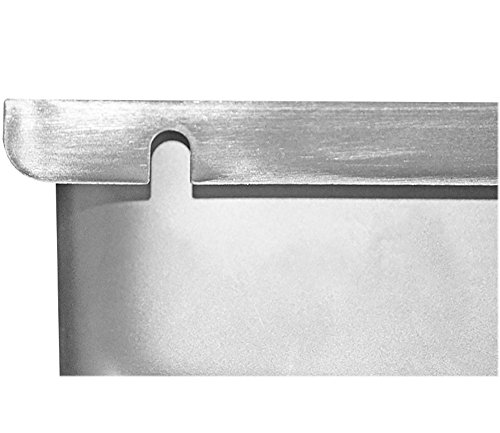 Removable Keyhole Mount Grease Cup for Restaurant Hoods - 4'' x 6 5/8'' x 4'' by Compenent Hardware (Image #1)