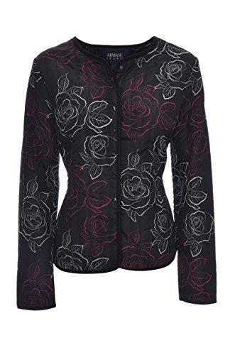 Regular Fantasy Jacket Jeans Lightweight 6Y5B14 Armani Woman Rose Quilted aA8CRwq