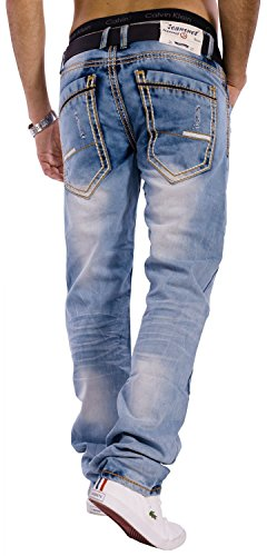 Herren Vintage Jeans Next Generation ID1302 Stretch Regular Fit (Gerades Bein)