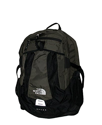 The North Face MEN'S Recon laptop backpack book bag (New Taupe Green) by The North Face