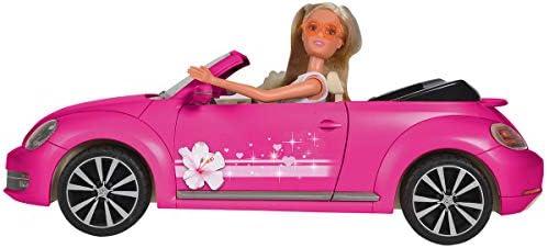 Simba 105733353 Steffi Love VW Beetle Cabriolet