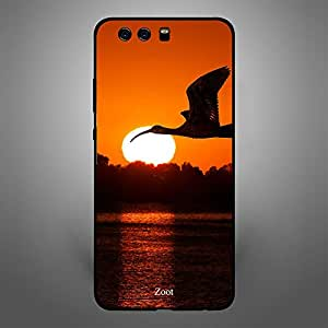 Huawei P10 Plus Fly at Sunset