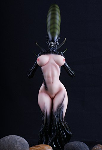 Gmasking Resin Alien Queen Statue Exclusive Collectibles -