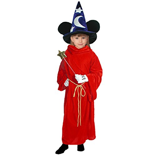 Disney Fantasia Sorcerer's Apprentice - Mickey Mouse Costume - Child Large Costume -