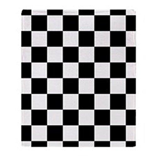 - CafePress Checkerboard Soft Fleece Throw Blanket, 50