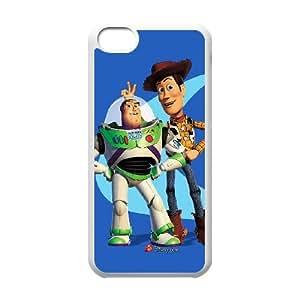 Toy Story A4R12Y5YB funda iPod Touch 6 caso funda D15C44 blanco