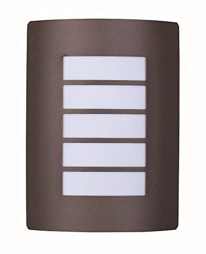Maxim Lighting 54331 View LED Outdoor Wall Mount, Bronze Finish, 8 by 10.75-Inch