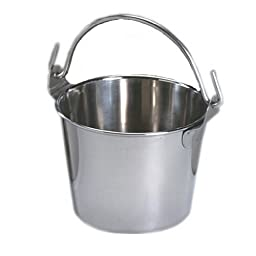 Lindy\'s 4-qt Stainless Steel Pail