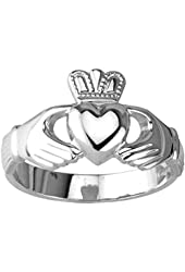 Claddagh Ring Ladies Standard Sterling Silver Irish Made