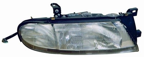 Go-Parts ª OE Replacement for 1993-1997 Nissan Altima Front Headlight Headlamp Assembly Front Housing/Lens/Cover - Left (Driver) Side - (GXE + XE) B6060-1E411 NI2502114 for Nissan Altima
