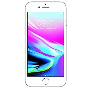 Apple iPhone 8 Plus 256GB, AT&T, Silver (Certified Refurbished)