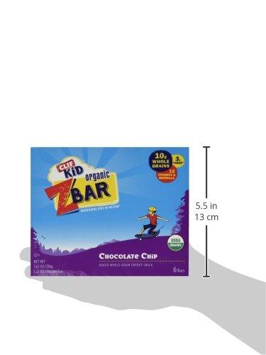 Clif Kid Z Bar - Chocolate Chip - 6 ct