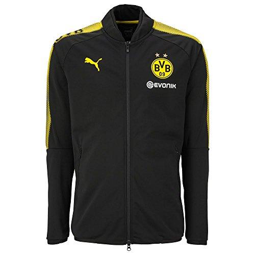 Borussia Dortmund Poly Jacket 2017 / 2018 - Black - XXL