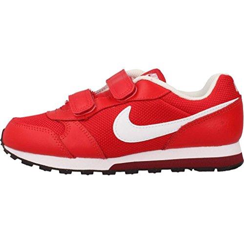 Nike Md Runner 2 (Psv), Zapatillas de Running Niños Rojo (University Red / White-Team Red-Black)
