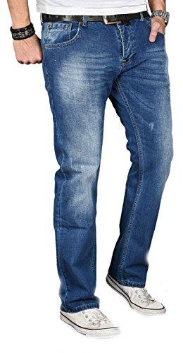 Bleu Alessandro SalvariniHerren Alessandro SalvariniHerren Bleu Jeans Jeans rdoxeBC