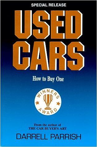 Read Used Cars: How to Buy One PDF, azw (Kindle), ePub, doc, mobi