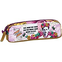 FRIDA KAHLO Pencil Case Pouch Oval Single Zipper Great Quality 8.3