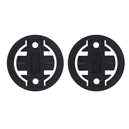 Sunoer Bike Computer Mount Adapter [2 Pack] Garmin Edge Bike Mount Accessories Bicycle Mount Adapter for Garmin Edge 200 500 510 520 800 810 820 1000 1030