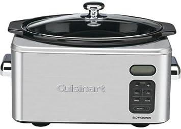 Cuisinart PSC650E Olla eléctrica, 258W, 6.5 litros, plata: Amazon.es: Hogar