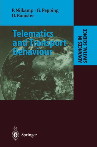 Telematics and Transport Behaviour (Advances in Spatial Science)