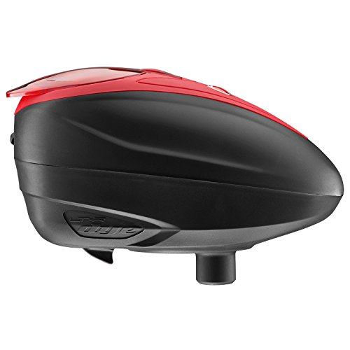 DYE LT-R Electronic Paintball Loader - - Red Hopper Paintball