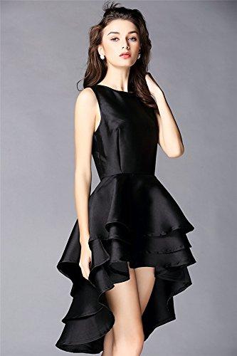 Sleeveless Skirt Women's Dress Allbebe Evening Black Black Tuxedo 7Y4ttCwq