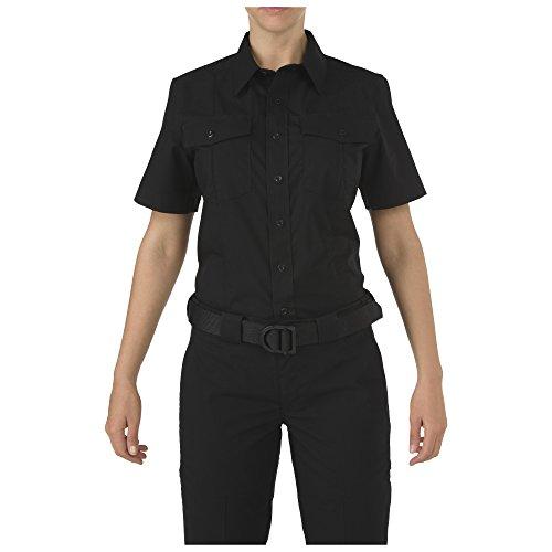 5.11 Tactical Women's Stryke PDU Class A Short Sleeve Button-Up Shirt, Flex-Tac Stretch Fabric, Style 61016