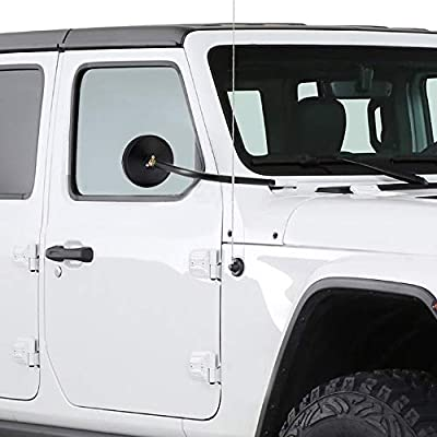 Jeep Mirrors Doors off Mirrors Top Less Mirrors Round Mirrors for 2020 2020 Jeep Wrangler JL Sport Sports Rubicon Sahara 2 and 4 Doors, Jeep JL Accessories: Automotive