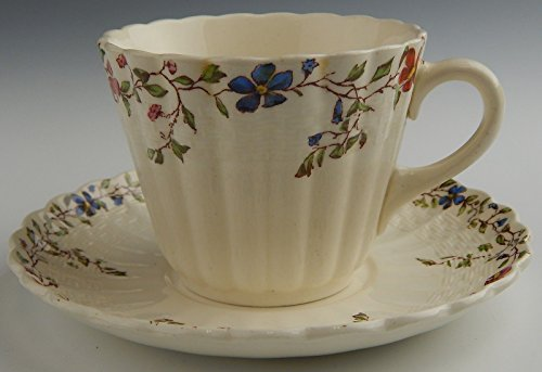 Spode/Copeland China WICKER DALE Cup & Saucer Set(s) Mult Available (Spode Wicker)