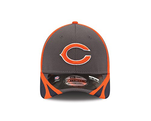 d2cf15a6a NFL Chicago Bears Graph Training Cap, Medium/Large - Import It All