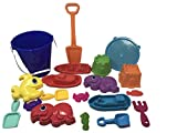 Nemean Lion Sand Box Wonders The World Sand Castle Mold Bundle. Includes Bucket Shovels Boats sand Castles. 20 Pc Beach Set