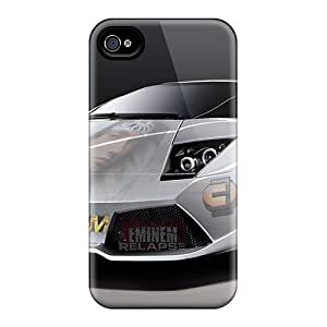Premium Durable Eminem Car Fashion Tpu Iphone 4/4s Protective Case Cover