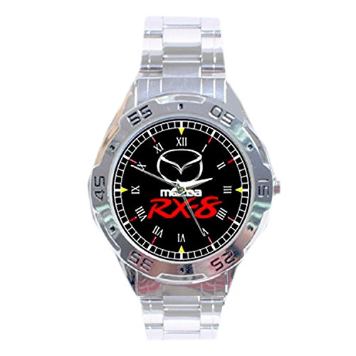mrzk142-new-rare-mazda-rx-8-custom-chrome-casual-mens-watch-wristwatches-free-shipping