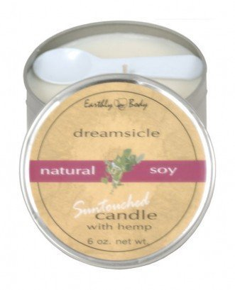 1 Body Massage Candle (3 In 1 Suntouched Round Massage Oil Candle Dreamsicle 6.8 Ounce)