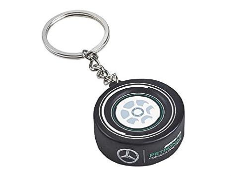 Amazon.com: Mercedes AMG Petronas F1 Tire llavero: Automotive