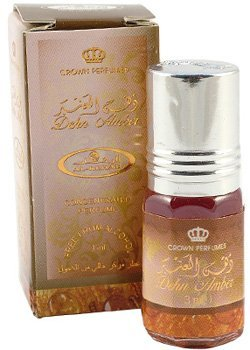 Dehn Amber Perfume Oil - 3ml Roll-on by Al-Rehab
