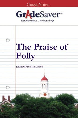 The Praise Of Folly Themes Gradesaver