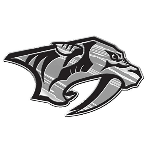 NHL Nashville Predators Chrome Automobile Emblem