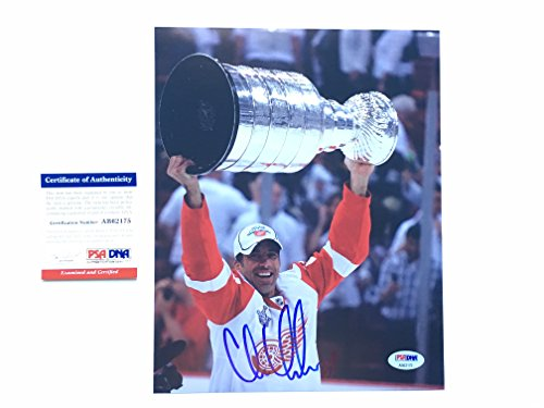 Chris Chelios Red Wings - Chris Chelios Hot! signed autographed Detroit Red Wings HOF 8x10 photo PSA/DNA cert