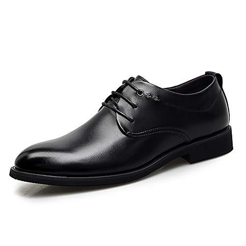 Dimensione Oxford 40 all'abrasione Business unita Resistente amp;Baby Casual con tinta in uomo scarpe Nero confortevole EU leggero lacci da Sunny Color Nero HXqwBZUU
