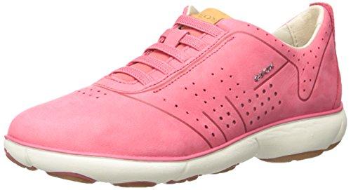 Geox D621ED 000LTC7008 - Mocasines de Piel para mujer Rosa - rosa