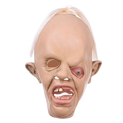 [Latex Animal Head Mask Novelty Halloween Costume Party Decoration (Creepy Goonies Sloth Mask)] (Sloth Goonies Costumes)