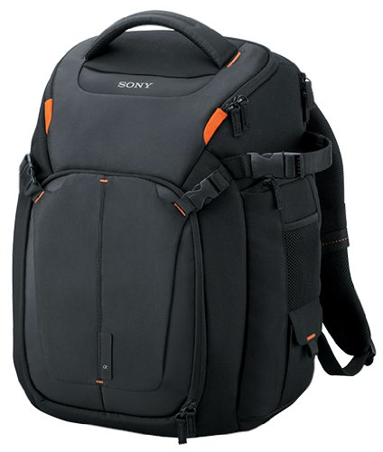 Sony LCSBP3  DSLR System Backpack with Laptop Storage,  (Black) by Sony